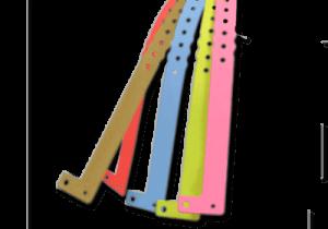 brazaletes de plástico