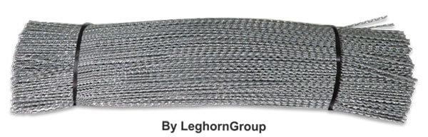 alambre espiralado cincado en tiras