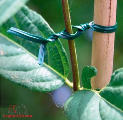 alambre plastificado para plantas bolsas ejemplos de uso