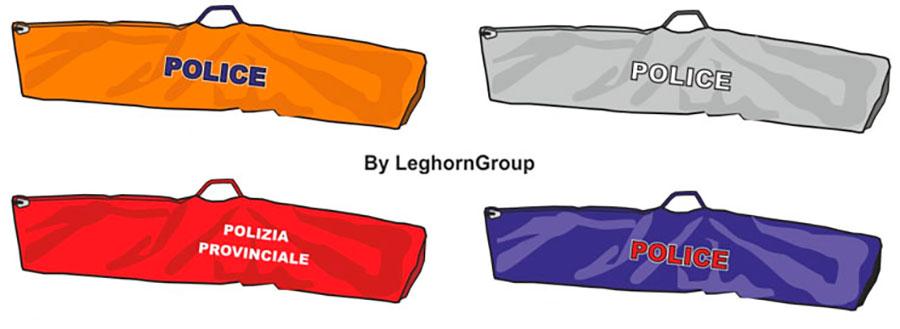 bolsa para incautacion armas copenhagen colores personalizacion