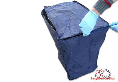 bolsa para paquetes lyon como usarlo