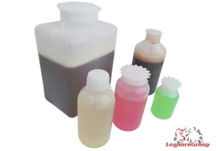 botella plástica rectangular de cuello ancho sellable