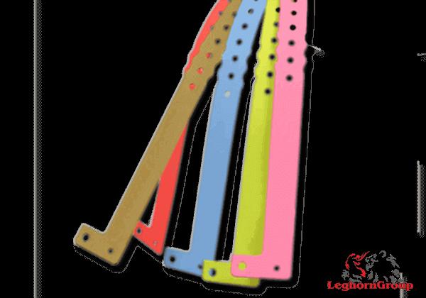 brazaletes identificativos de plástico