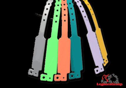 brazaletes identificativos de vinilo