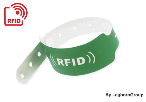 Brazaletes RFID LF/HF/UHF De PVC (vinilo)
