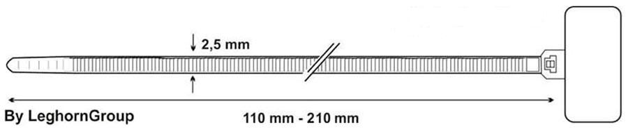 brida cableado etiqueta identificacion diseno tecnico