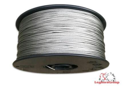 cable de acero plastificado