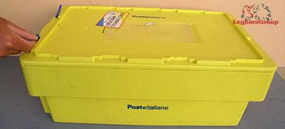 cierre para contenedores postal block como usarlo