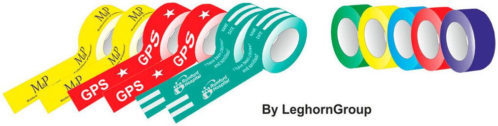 cinta adhesiva colorida personalizada