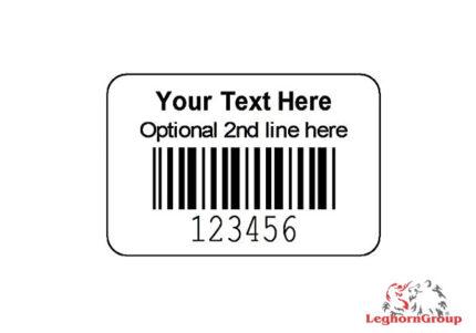 etiqueta adhesiva codigo barras personalizada
