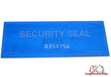 etiqueta de seguridad con residuo void