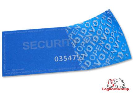 etiqueta de seguridad sin residuo void