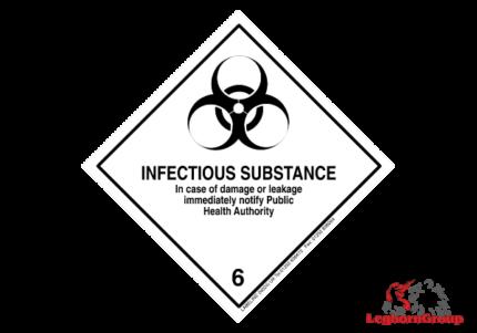 etiqueta mercancías peligrosas adr y imo