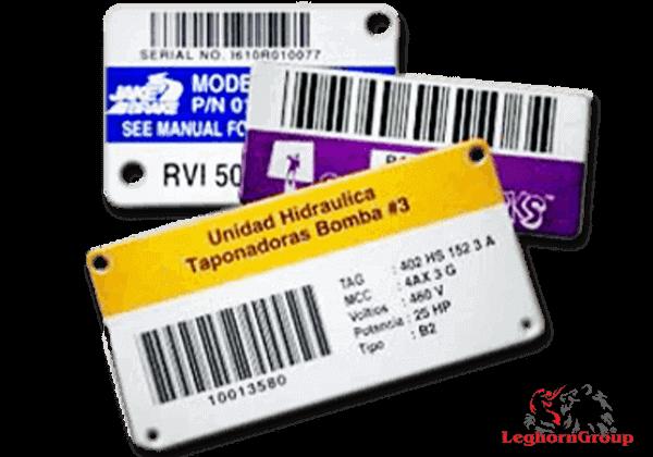 etiqueta para identificación de bienes