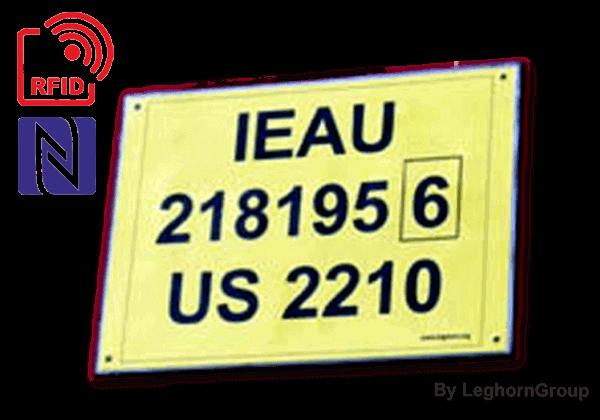 Etiqueta RFID Para Contenedores TAGETE