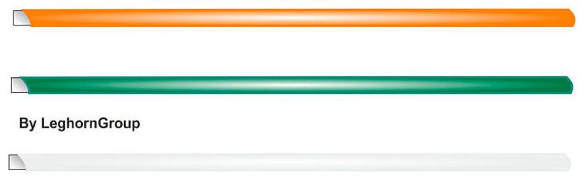 hilo de hierro plastificado colores