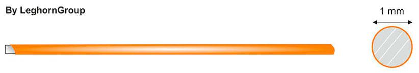 hilo de hierro plastificado diseno tecnico