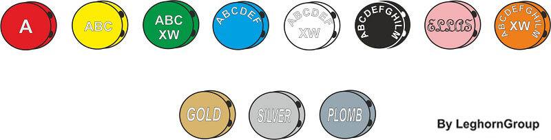 precinto boton plastico plombex colores personalizaciones
