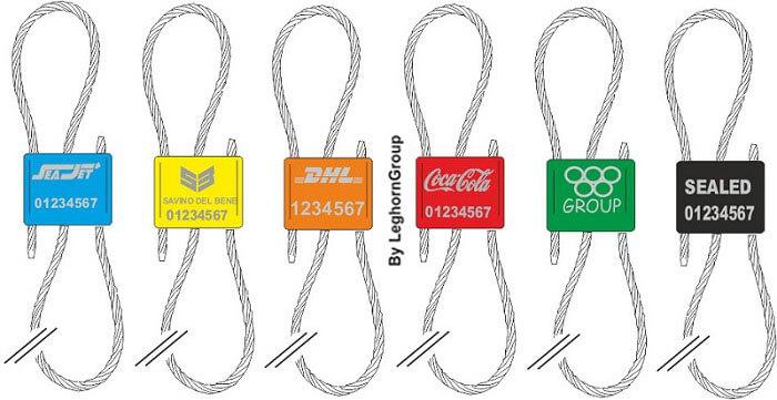 precinto cable oceanus seal colores personalizaciones
