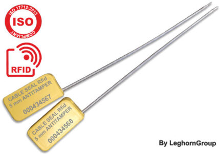 precinto de cable de alta seguridad rfid uhf