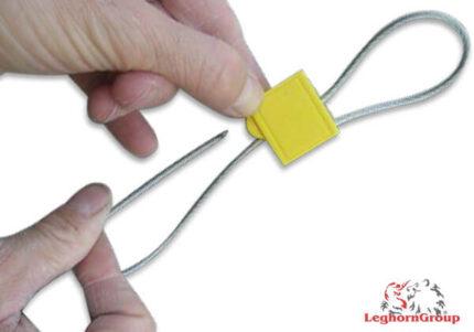 precinto de cable de doble pasaje cronus