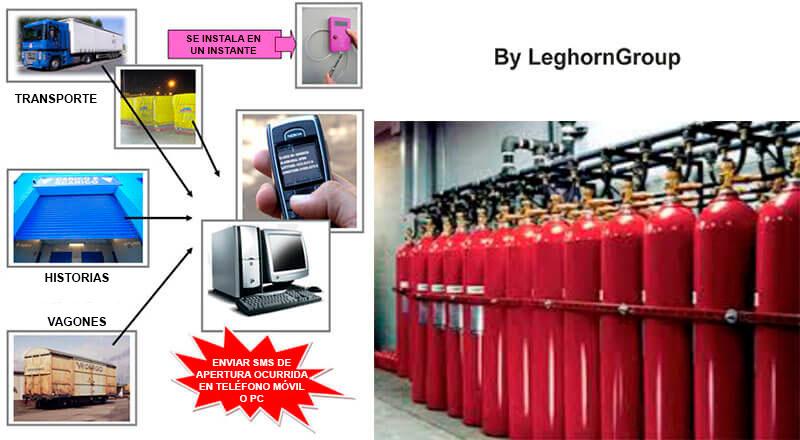 precinto electronico alert lock