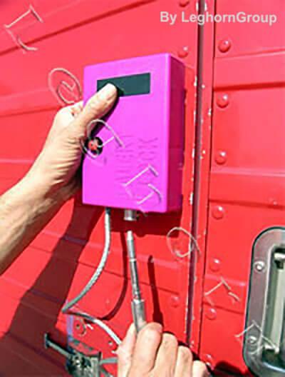 precinto electronico alert lock como usarlo
