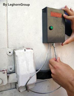 precinto electronico e-lock standard ejemplos de uso