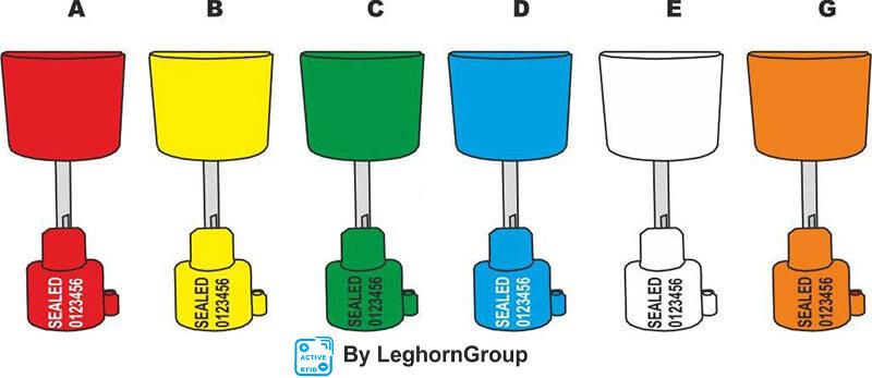 precinto electronicos mentorseal colores personalizaciones