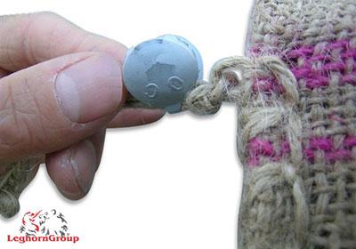 precinto metalico crius seal ejemplos de uso
