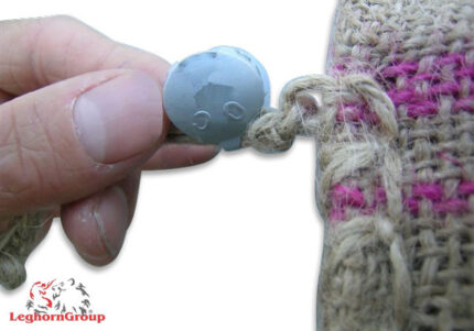 precinto metálico para sacos de yute criusseal