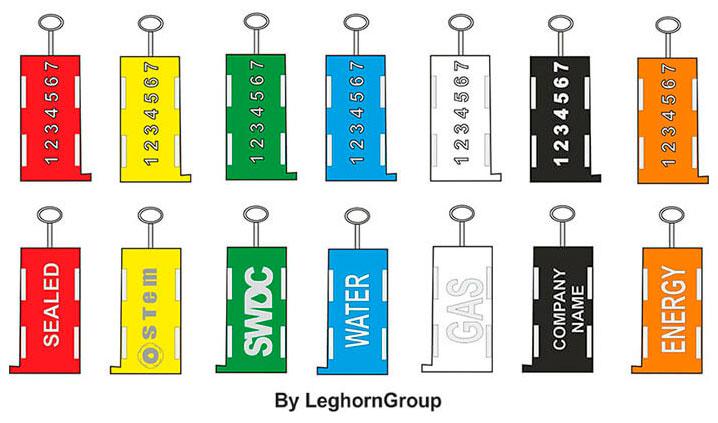 precinto para alambre triton colores personalizaciones