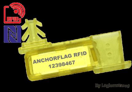precinto para alambre rfid uhf nfc anchorflag