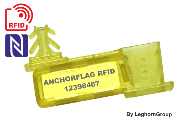 Precinto Para Alambre RFID UHF ANCHORFLAG