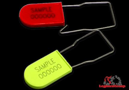 precinto plástico tipo candado para compañias aéreas padlockseal 180-1