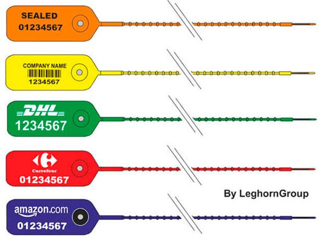 precinto plastico adjust seal colores personalizaciones