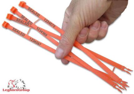 precinto plástico de longitud fija tipo anillo hornseal 7x260mm