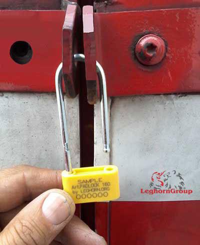 precinto plastico padlock seal 160-4 como usarlo
