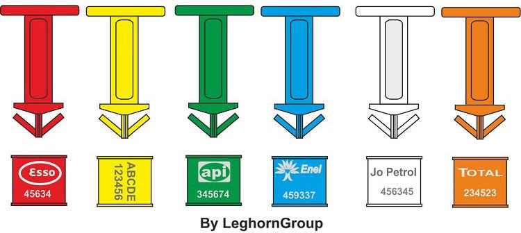 precinto plastico para bidones drum seal colores personalizaciones