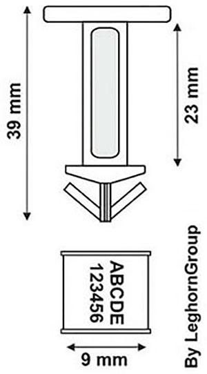 precinto plastico para bidones drum seal diseno tecnico