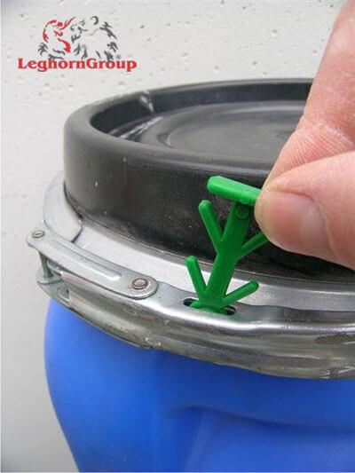 precinto plastico para bidones drumlock como usarlo