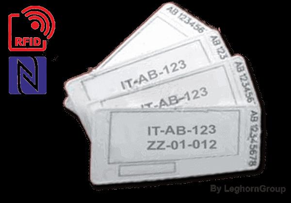 Precinto Plastico RFID Para Paletas