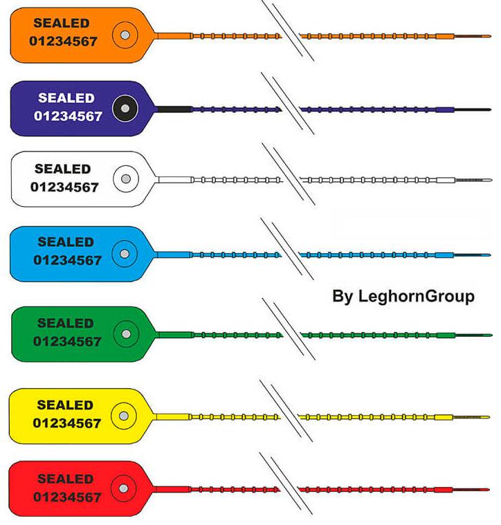 precinto plastico scite seal colores personalizaciones
