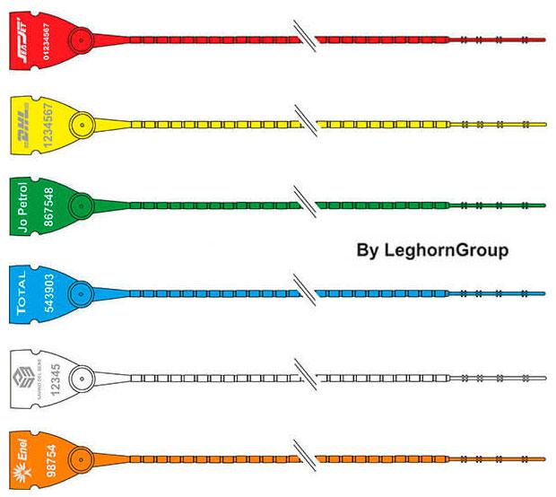 precinto plastico scite seal lgh 103-2×270 mm colores personalizaciones