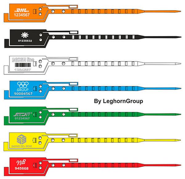 precinto plastico simpleseal colores personalizaciones