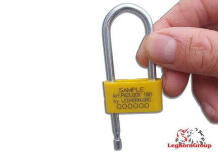 precinto plástico tipo candado anillo acero padlockseal 160-4