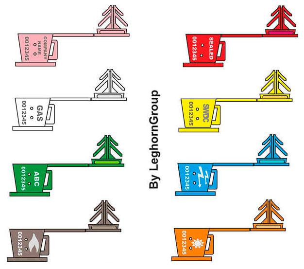 precinto transparente anchorclick colores personalizaciones