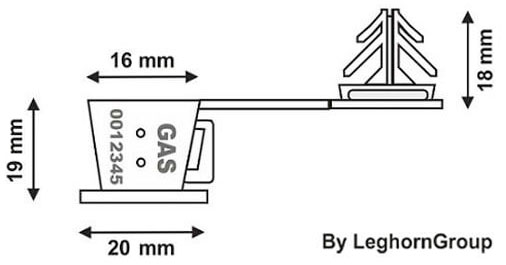 precinto transparente anchorclick diseno tecnico