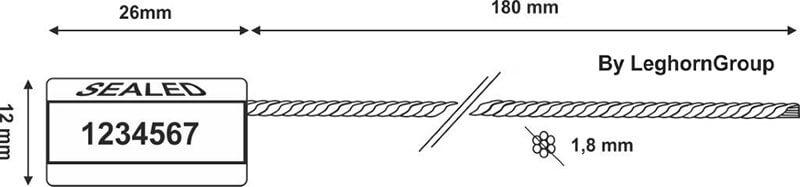precintos cable achelou seal diseno tecnico