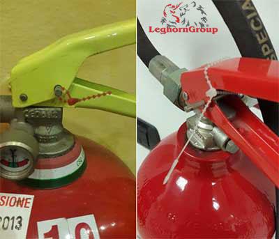precintos extintores arachne seal ejemplos de uso
